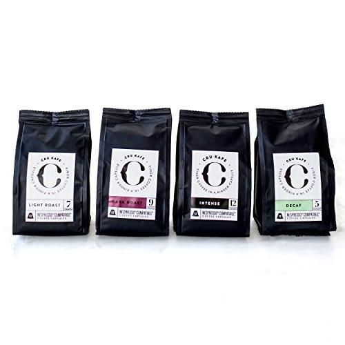 Trending in my store today⚡️ 48 CRU Kafe Starter Pack Fairtrade Organic C 4 blends http://barista-pod.com/products/cru-kafe-starter-pack-fairtrade-organic-coffee-capsules-nespresso-compatible-4-blends-48-pods?utm_campaign=crowdfire&utm_content=crowdfire&utm_medium=social&utm_source=pinterest