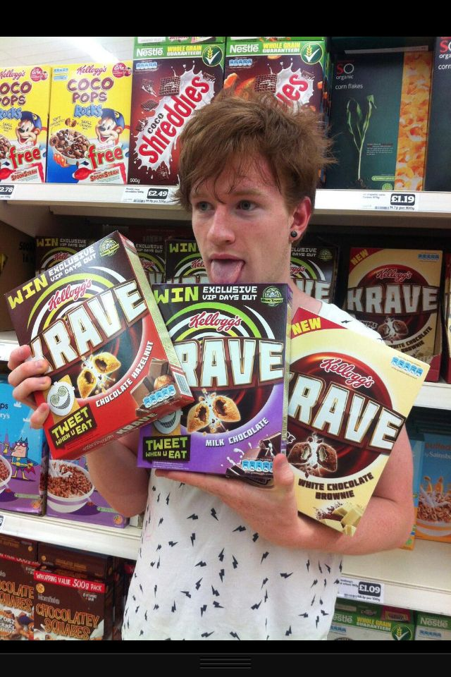Lukeisnotsexy and his Krave...