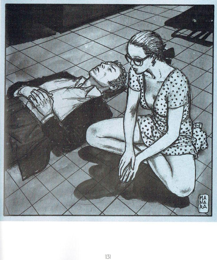 Manara Maestro dell'Eros-Vol. 22, La letteratura illustrata-131