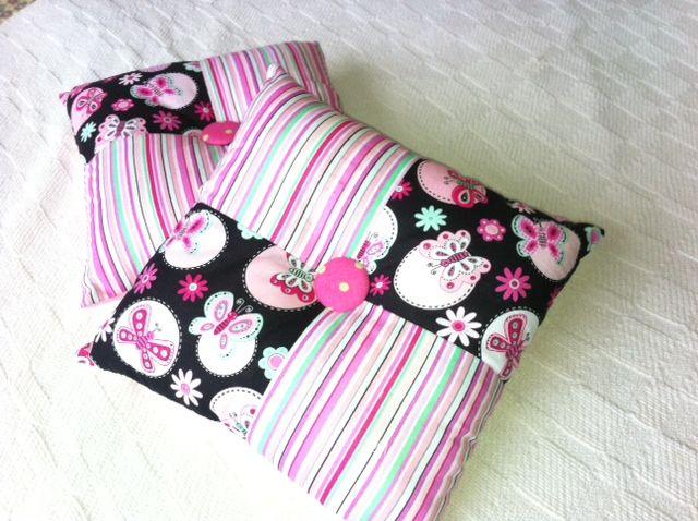 Cojines en rosa