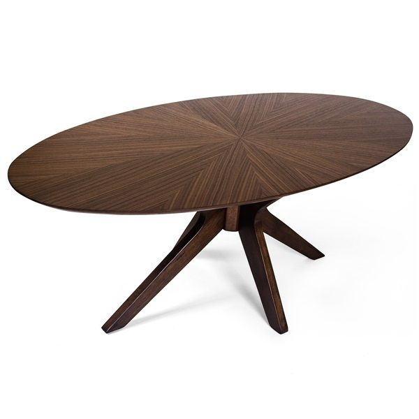 Starburst Oval Coffee Table Oval Coffee Tables Coffee Table