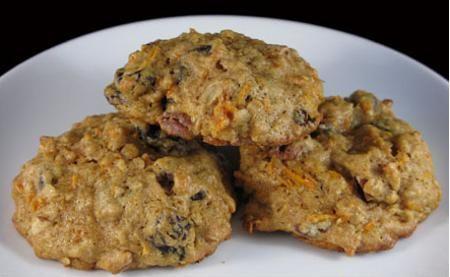 Galletas veganas de avena y zanahoria en sólo 6 pasos - El Gran Chef