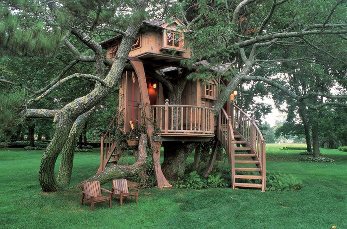 place to chill: Cool Trees Houses, Dreams Home, Trees Forts, Treehouse, Long Islands, Places, Guest Houses, Awesome Trees Houses, Kid