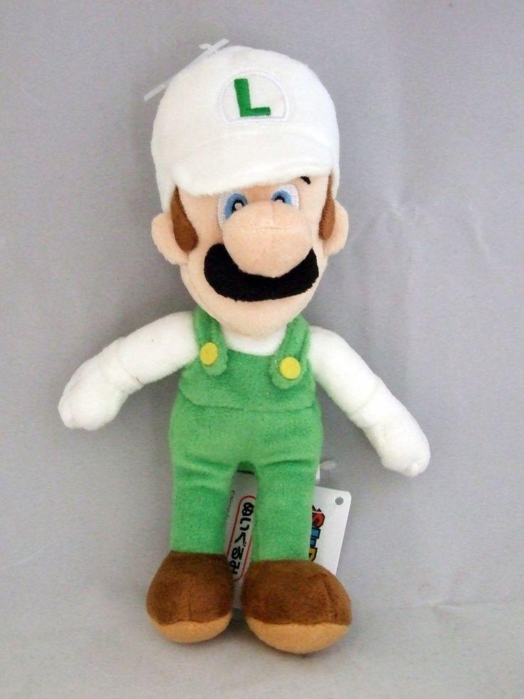 Peluche Luigi de fuego, 23cm. Super Mario Bros Wii Precioso peluche de 23cm perteneciente al personaje Luigi de Mario Bros.