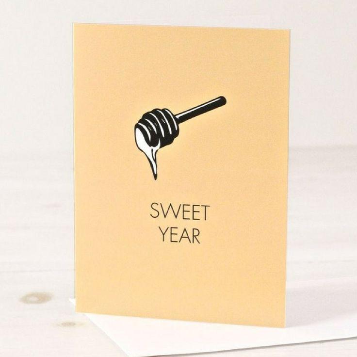 Sweet Year - Rosh Hashanah Greeting Card