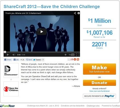 "Online Fundraising for Charities and #Nonprofit organizations. Learn how to raise funds for your Nonprofit through Crowdfunding... Just like this case study of ""Operation Sharecraft - Save The Children"" that raised over $1 million in just 84 days for starving kids in East Africa."