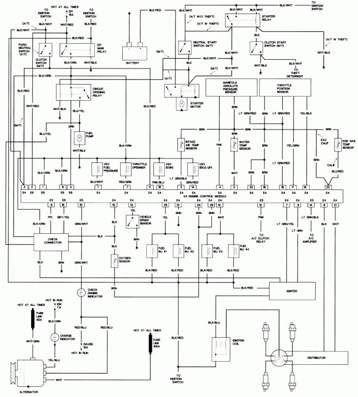 17 4agze Ignition Wiring Diagram In 2021 Toyota Corolla Toyota Electrical Wiring Diagram