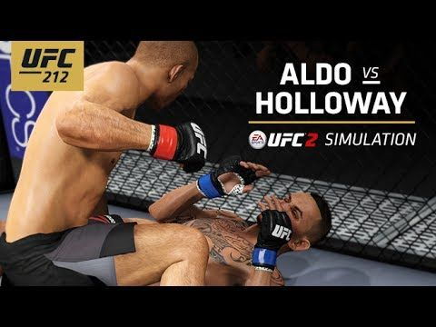 EA SPORTS UFC 2's in-game simulation engine predicts the winner of Jose Also vs Max Holloway at UFC 212 for the Featherweight Title in Rio de Janeiro, Brazil...