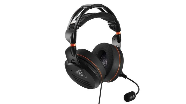 """The Turtle Beach Elite Pro gaming headphones deliver tournament-grade performance thanks to a duo of 50-millimeter audio drivers, as well as a microphone with excellent quality. Soft memory-foam cushions and arguably the best adjustment system ensure that gamers can spend hours with the headset without even a hint of fatigue. Thanks to their """"grown-up"""" design and removable microphone, the Elite Pro headset is also a great companion for desktop duties."""