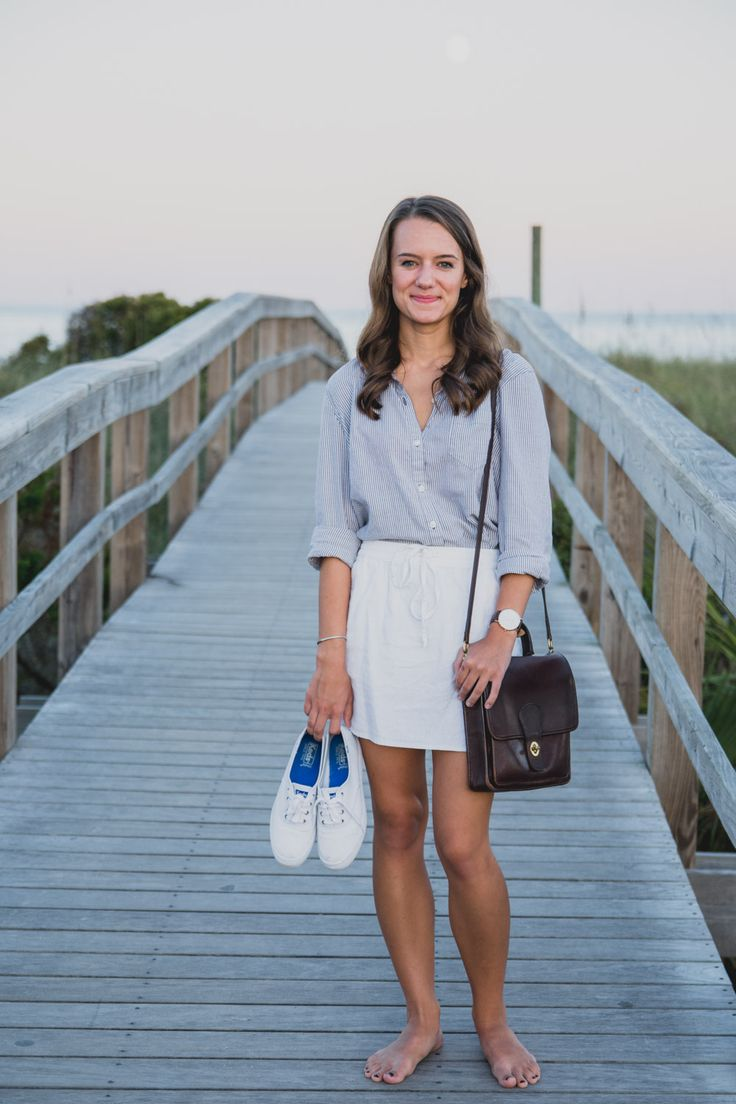 Evenings on Tybee in 2019 | Girl | White mini skirts ...