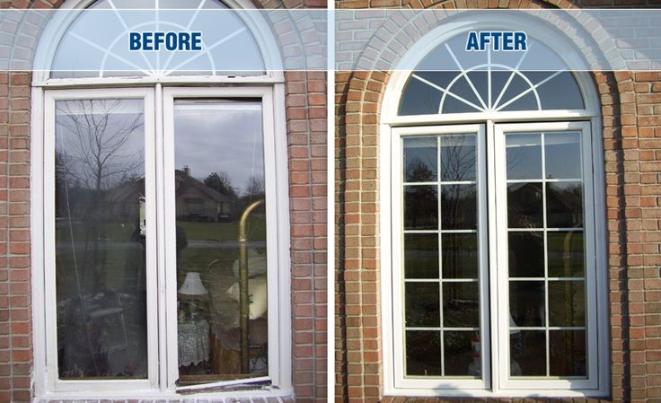 Just look at what restoration by Window Makeover can do to improve the look of your windows!