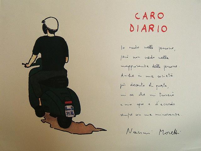 Nanni Moretti - Caro Diario Io credo nelle persone | Flickr - Photo Sharing!