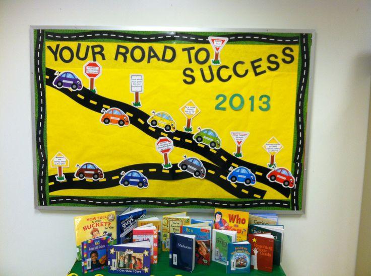 Classroom Decor Companies ~ Top best road bulletin board ideas on pinterest