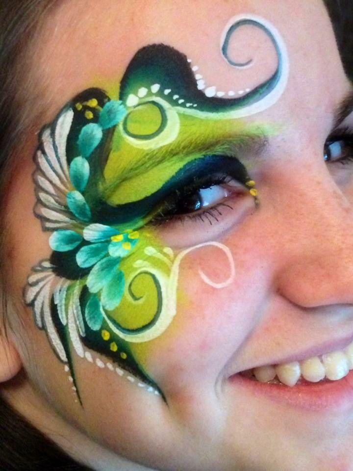 Laura Oliver || onestroke eye design using global
