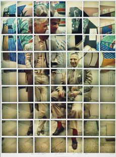 DAVID HOCKNEY : PHOTOS / POLAROIDS