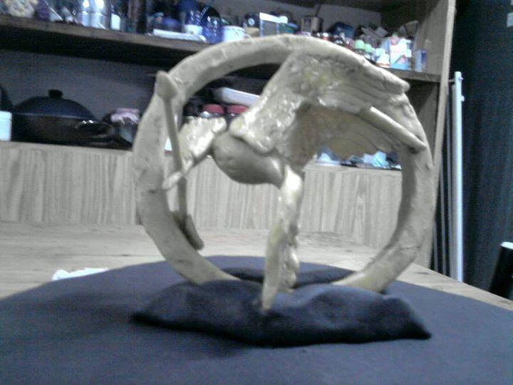 The Hunger Games Polymer Clay Porcelana Fria Sinsajo Los Juegos Del Hambre