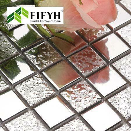 Wholesale Wall Mirror Design - Buy Procelain Tile Stickers Glossy Plating Mosaic Art Discount Tile Backsplash Kitchen Bathroom Wall Mirror Designs, $25.77 | DHgate