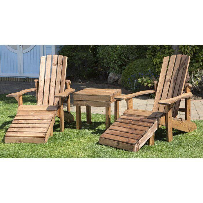 2 Seater Bistro Set In 2020 Wooden Garden Chairs Garden Patio Sets Garden Sofa Set