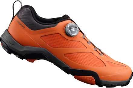 Shimano Men's MT7 Mountain Bike Shoes Orange 43