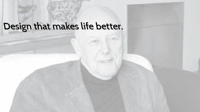 Design that makes life better–Michael Wolff by Anna Craemer