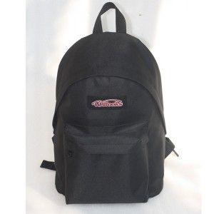 Tas Sekolah Willooks 136 Hitam adalah tas sekolah ransel untuk anak TK dan SD karena ukurannya kecil. Bahannya terbuat dari dinir soft warna hitam