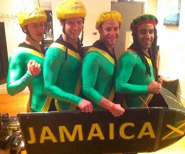 Team Jamaica Halloween Costume Idea
