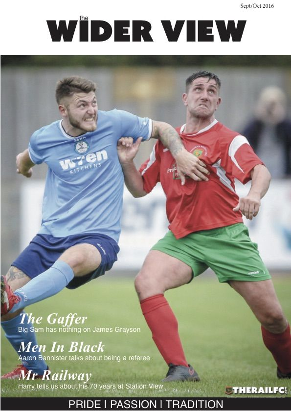 The new edition of The Wider View is out!        @therailfc #NCEL