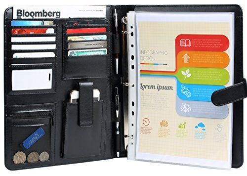 17 best ideas about leather 3 ring binder on pinterest