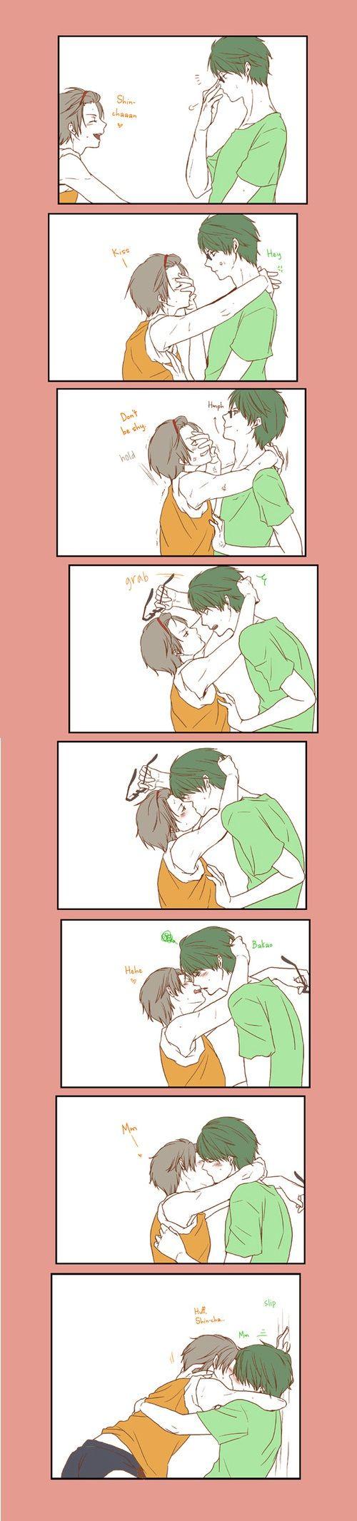 Shounen ai ~~ Seduction BY the innocent...?