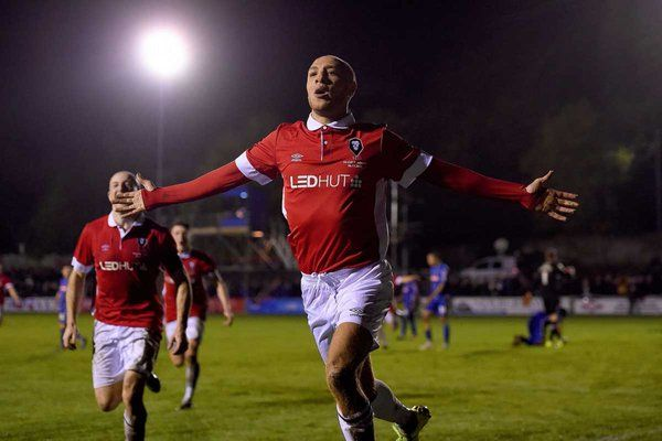 November 7 2015 - Salford City stun Notts County in the FA Cup first round