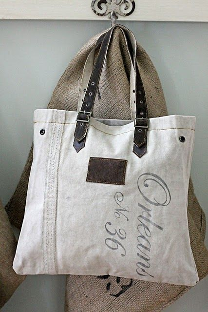 ~ remind me to make a heavy duty canvas bag and use an old leather belt for handle
