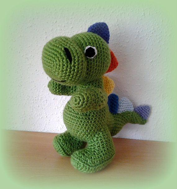 Crochet Dragon by CrochetlandRV on Etsy