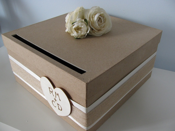 Rustic Wedding Card Box Simple To Diy See More