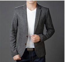Grey blazers men casual http://www.theprincefashion.com/blazer-and-suits.html