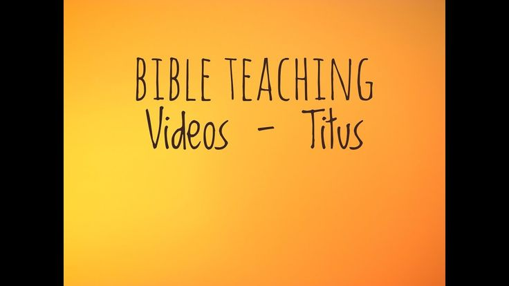 Bible Teaching - Titus 2:14a - A Priceless Purchase