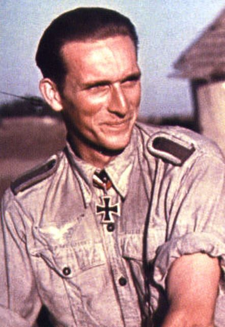 Karl Gratz (24 January 1919 – 14 March 2002) was an Austrian born Luftwaffe fighter ace and recipient of the Knight's Cross of the Iron Cross .Gratz flew more than 900 missions, scoring 138 aerial victories, of which 17 were scored on the Western Front.