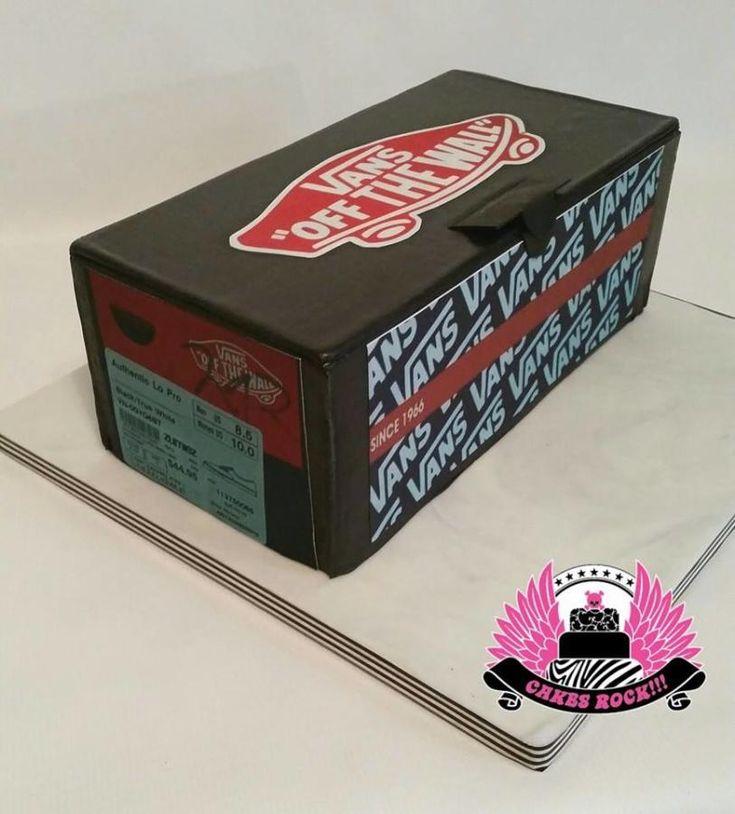 1000 fikir shoe box cake te