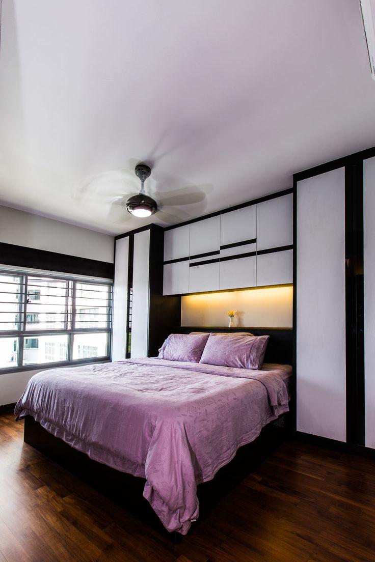 5 room hdb master bedroom design   best home design images on Pinterest