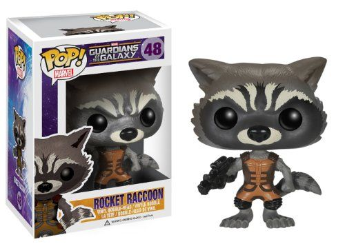 Guardians of the Galaxy Rocket Raccoon Pop! Vinyl POP! Vinyl http://www.amazon.co.uk/dp/B00JEYV1BK/ref=cm_sw_r_pi_dp_NgtIvb08WDKFY