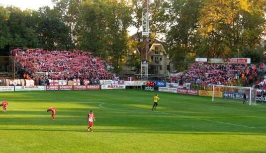 A Diósgyőr szurkolók Debrecenben (2012. október 21.)