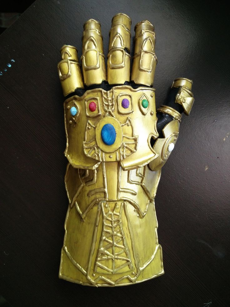 I made the Infinity Gauntlet (QuickCrafter) Marvel diy