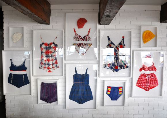 Little Green Notebook: Framing Baby and Vintage Clothing