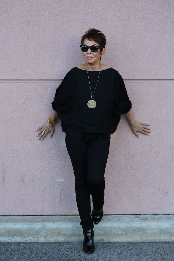 Dorrie, the 80-year-old blogger behind Senior Style Bible. I want to be this stylish when I'm 80.