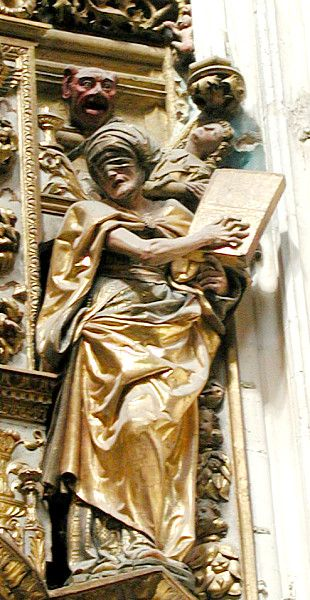 Synagoga. Wood, polychrome   Chapel of the High Constable, Burgos Cathedral, Spain