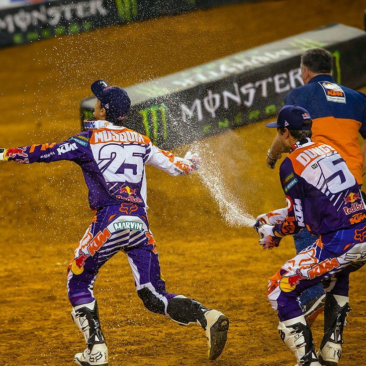 Ryan Dungey and Marvin Musquin