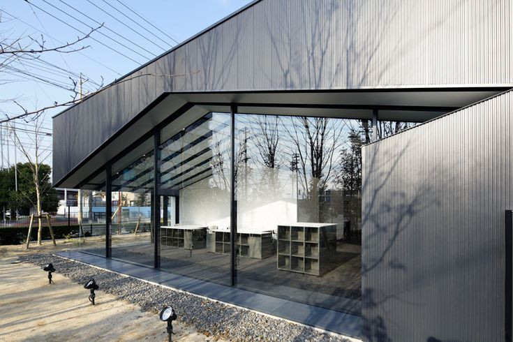 sugawaradaisuke: aqua plannet headquarters / office in forest