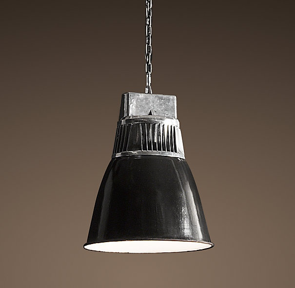 Restoration Hardware Lighting For Kitchen: European Factory Fin Pendant - Restoration Hardware
