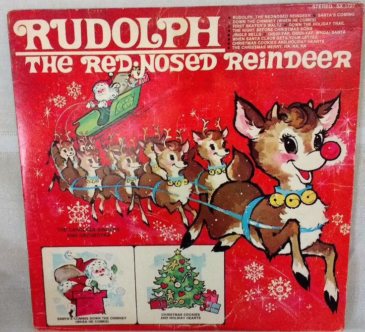 "Vintage Rudolph Red Nosed Reindeer-Caroleer Singers & Orchestra12"" Vinyl LP P/VG FOR SALE • $2.50 • See Photos!  Normal 0 false false false EN-US X-NONE X-NONE 222680371641"