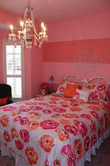 75 Delightful Girls\u0027 Bedroom Ideas Hannah\u0027s room Pinterest