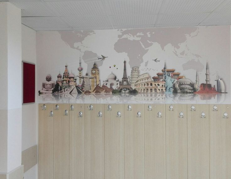 Ofis Duvar Kağıdı Modelleri - Dünyanın Simgeleri - Eiffel Kulesi Duvar Kağıdı - Dünya Haritası - İş Yeri Duvar Kağıtları - Duvargiydir.com - Dekorasyon - Dekoratif - İç Mimari - Duvar Resmi